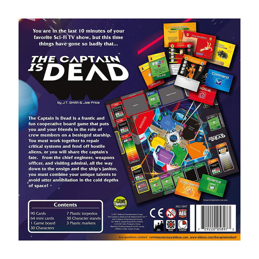The Captain is Dead Board Game *English Version*