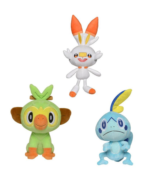 Pokémon Sword and Shield Plush Figures 20 cm Display (6)