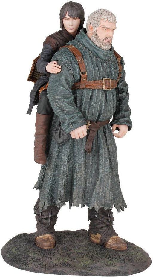 Game of Thrones PVC Statue Hodor & Bran 23 cm --- DAMAGED PACKAGING