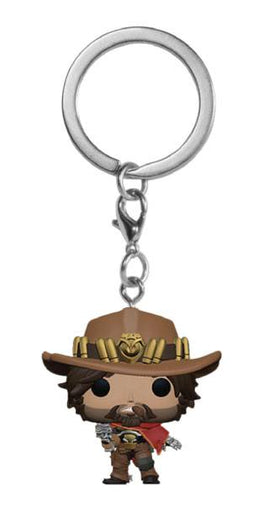 Overwatch Pocket POP! Vinyl Keychain McCree 4 cm (FK37439)