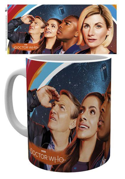 Doctor Who Mug Painting (GYE-MG3353)