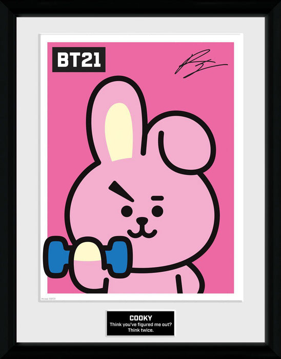 BT21 Framed Poster Cooky (GYE-PFC3466)