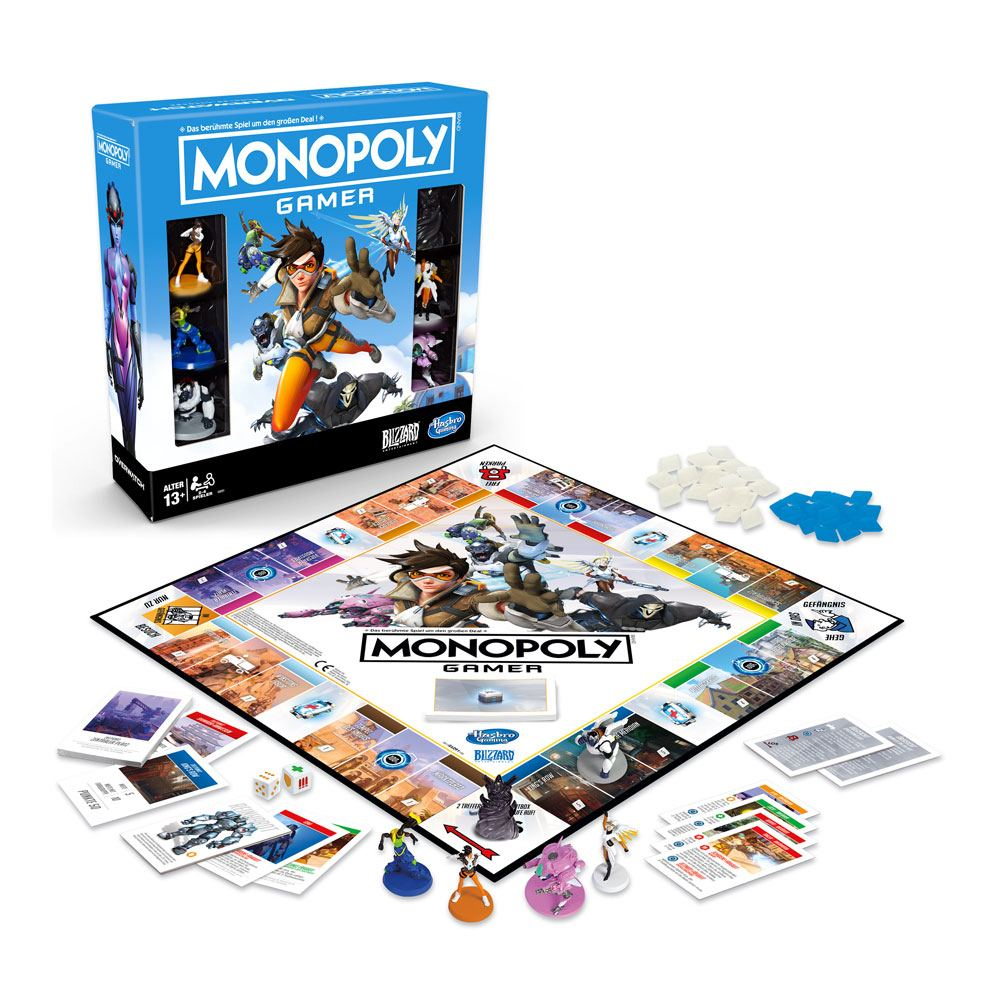 Overwatch Board Game Monopoly Gamer *German Version* (HASE6291)