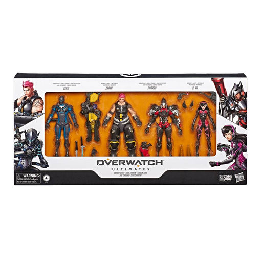 Overwatch Ultimates Action Figures 4-Pack Carbon Fiber 15 cm (HASE6390)