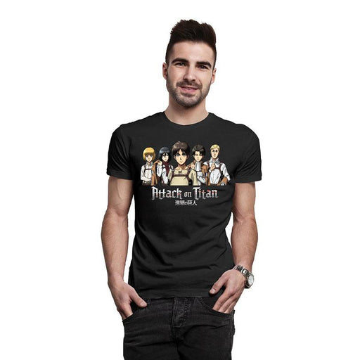 Attack on Titan T-Shirt Group Shot (INDIE1734XL)