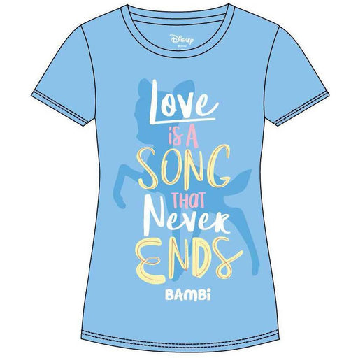 Bambi Ladies T-Shirt Love Is A Song (INDIE2131XL)