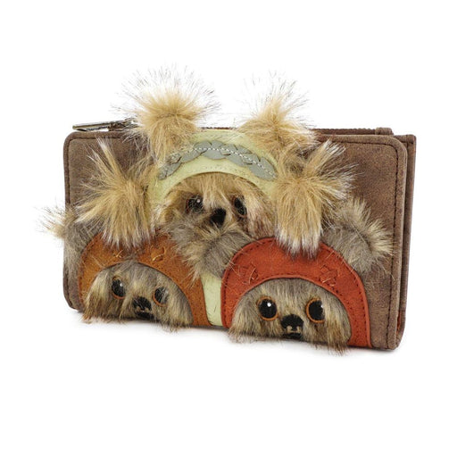 Star Wars by Loungefly Wallet Ewok Trio