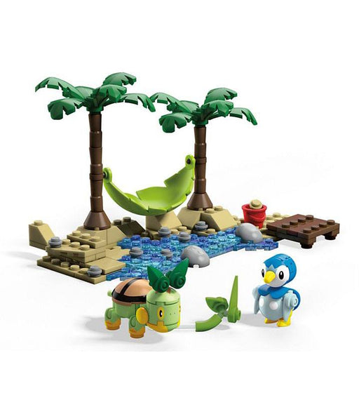 Pokémon Mega Construx Construction Set Piplup vs. Turtwig (MATTGCN13)