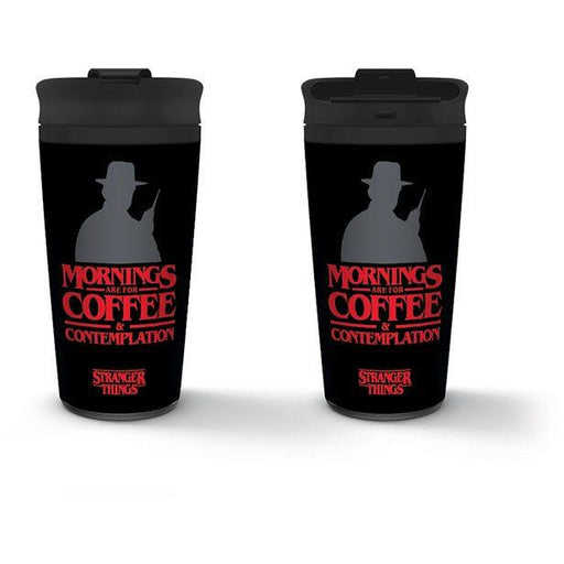 Stranger Things Travel Mug Coffee and Contemplation (MTM25371)