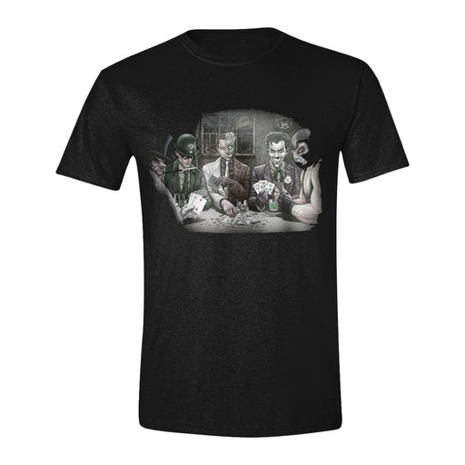 Batman T-Shirt Villains Poker (PCMTS4830BATL)