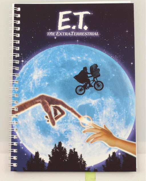 E.T. the Extra-Terrestrial Notebook Movie Poster