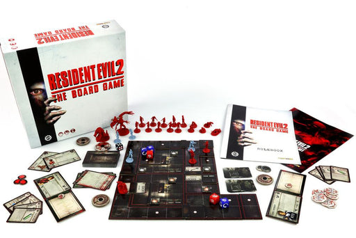 Resident Evil 2 The Board Game *English Version* --- DAMAGED PACKAGING