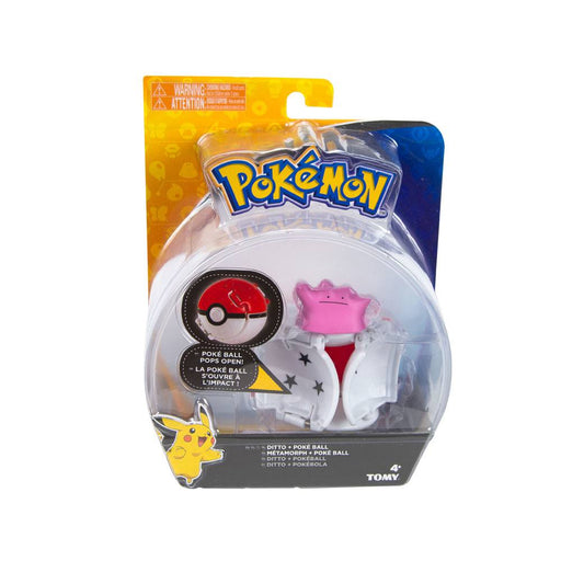 Pokémon Throw 'n' Pop Poké Ball with Figure Ditto