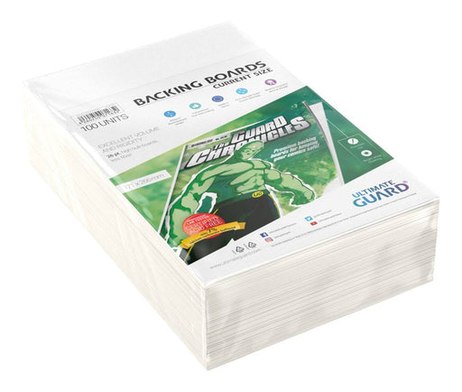 Ultimate Guard Comic Backing Boards Current Size (100) (UGD020005)