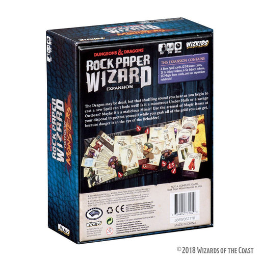 Dungeons & Dragons Board Game Expansion Rock Paper Wizard: Fistful of Monsters *English Version* (WIZ73142)