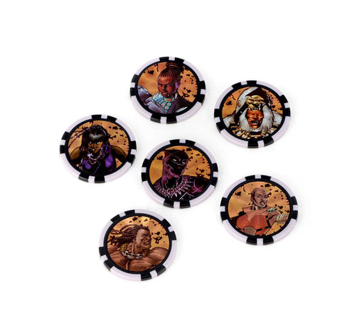 Marvel HeroClix: Avengers Black Panther and the Illuminati Dice and Token Pack (WIZ73481)