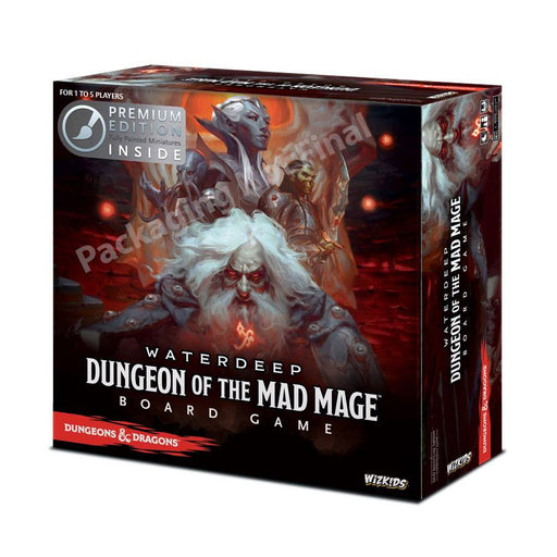 Dungeons & Dragons Board Game Waterdeep Dungeon of the Mad Mage Premium Edition *English Version* (WIZ73591)