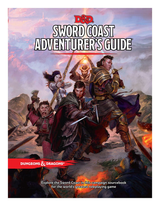Dungeons & Dragons RPG Sword Coast Adventurer's Guide english (WOTCB24380000)