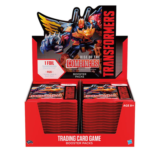 Transformers TCG Booster Rise of the Combiners Display (30) english (WOTCC63220000)