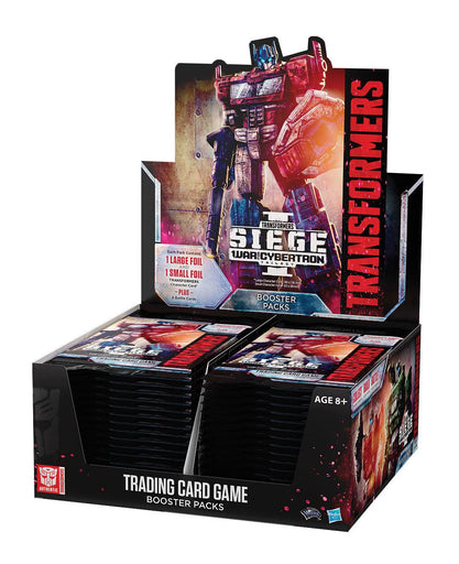 Transformers TCG Booster War for Cybertron Siege I Display (30) english
