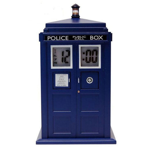 Doctor Who Alarm Clock with Projector Tardis --- DAMAGED PACKAGING (ZLTDDR190DAP)