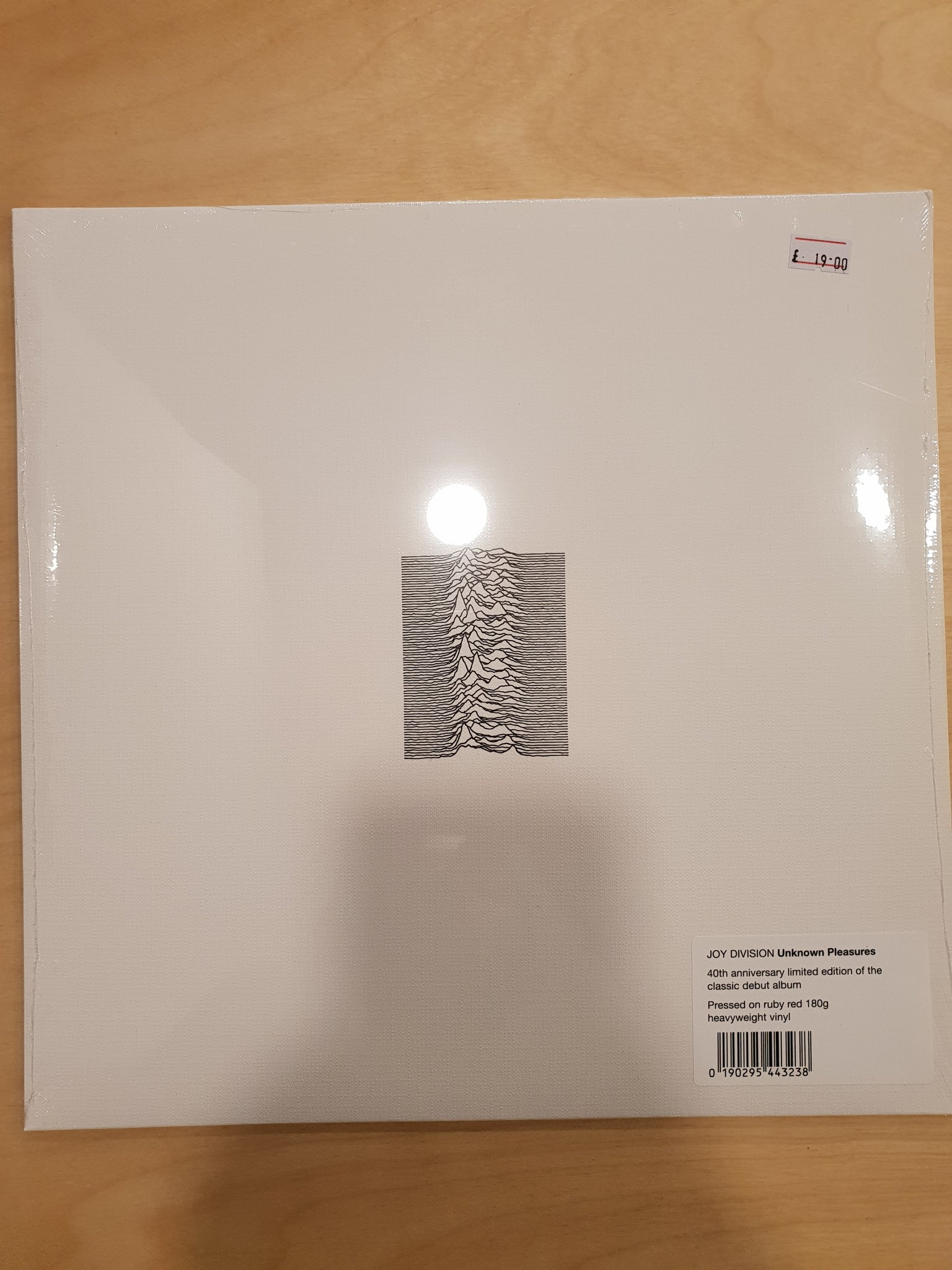 Joy Division - Unknown Pleasures (40th Anniversary Red Vinyl)