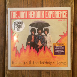 The Jimi Hendrix Experience - Burning Of The Midnight Lamp 7""