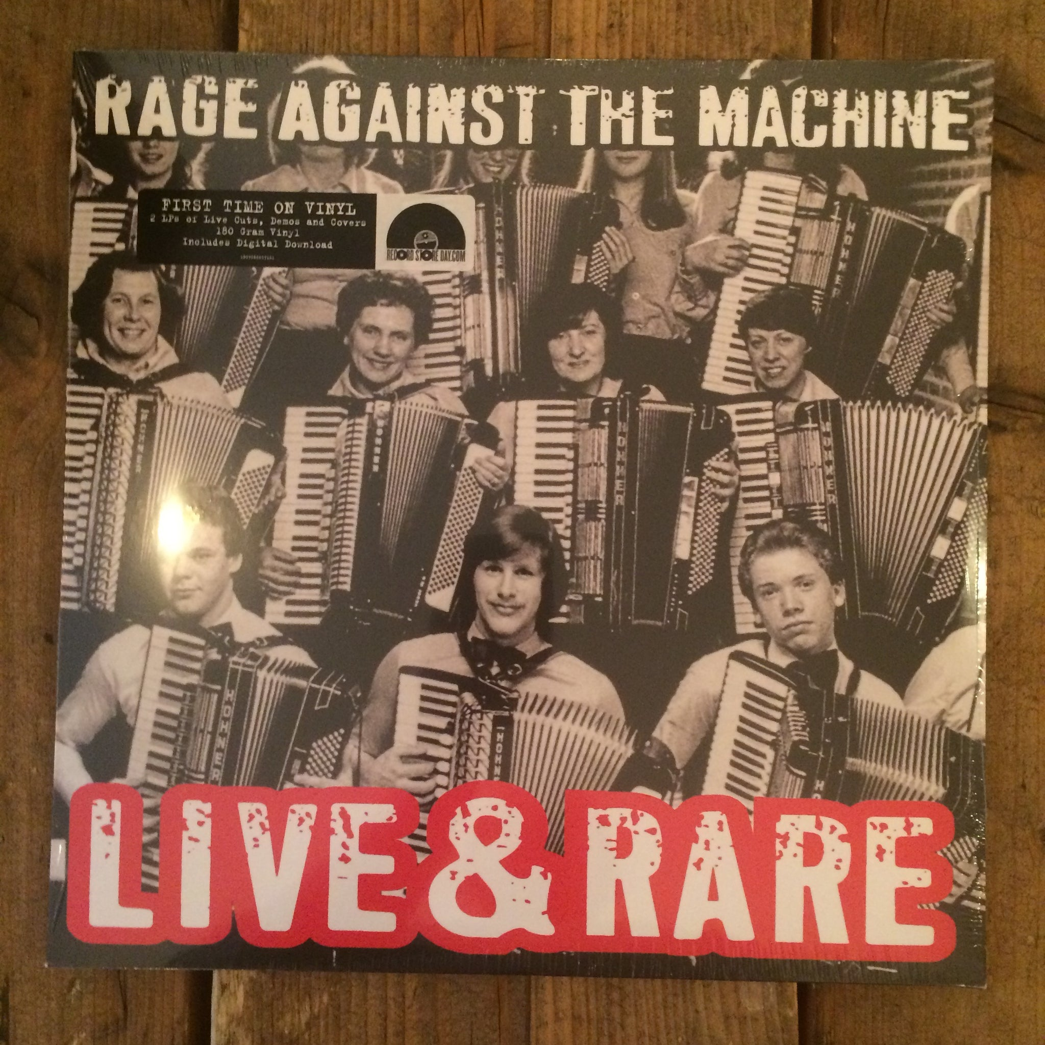 Rage Against The Machine - Live & Rare
