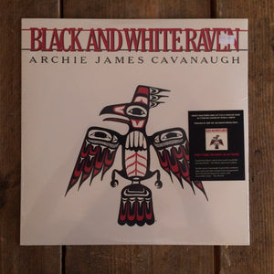 Archie James Cavanaugh - Black and White Raven