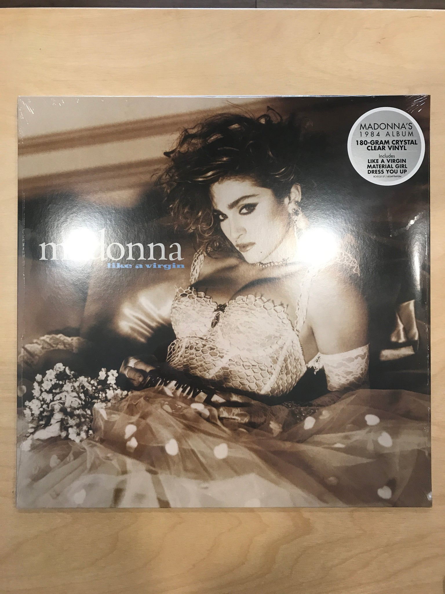 Madonna - Like a Virgin (crystal clear vinyl)