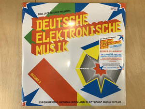 Deutsche Elektronische Musik - Soul Jazz Records compilation