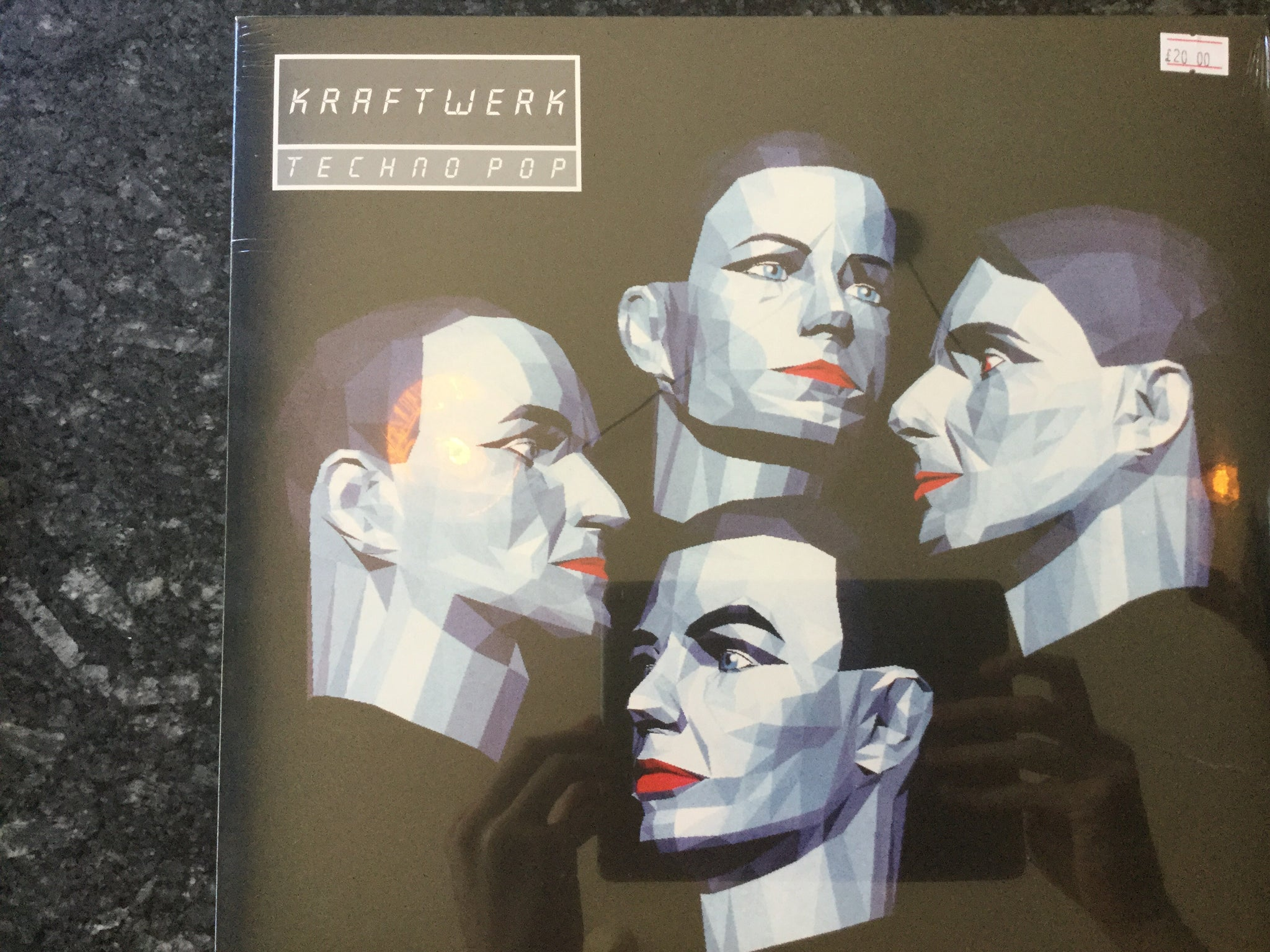 Kraftwerk- Techno Pop