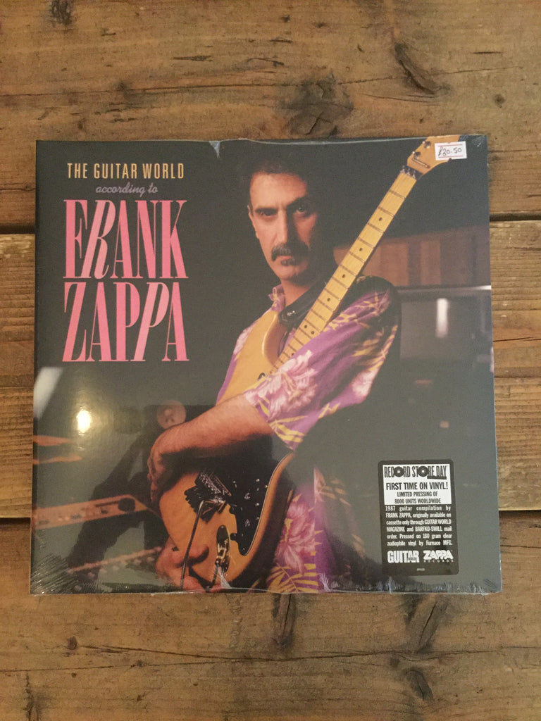 Frank Zappa - Guitar World