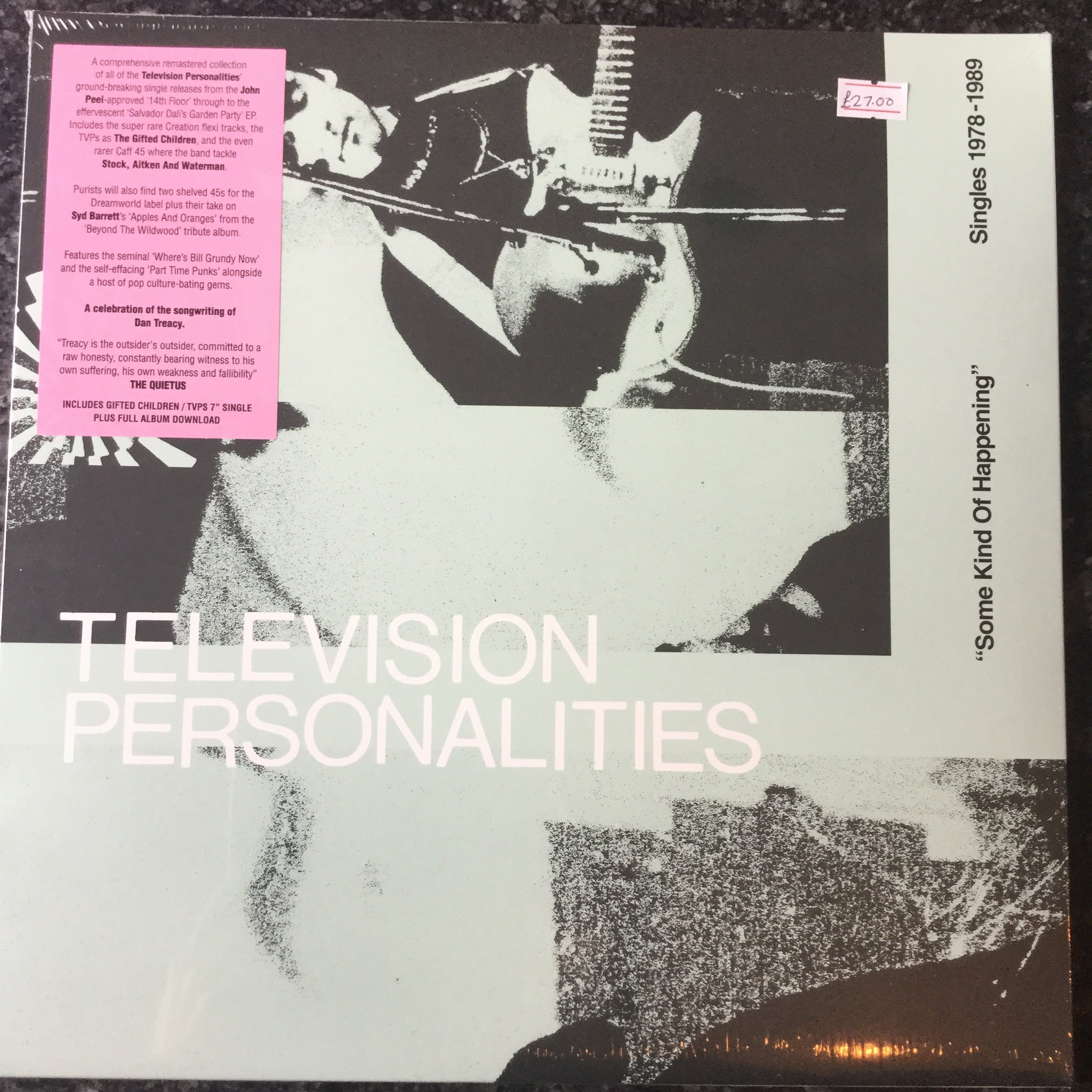 Television personalities - some kind of happening