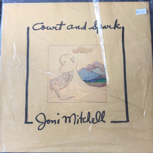 V - Court and spark - joni mitchell