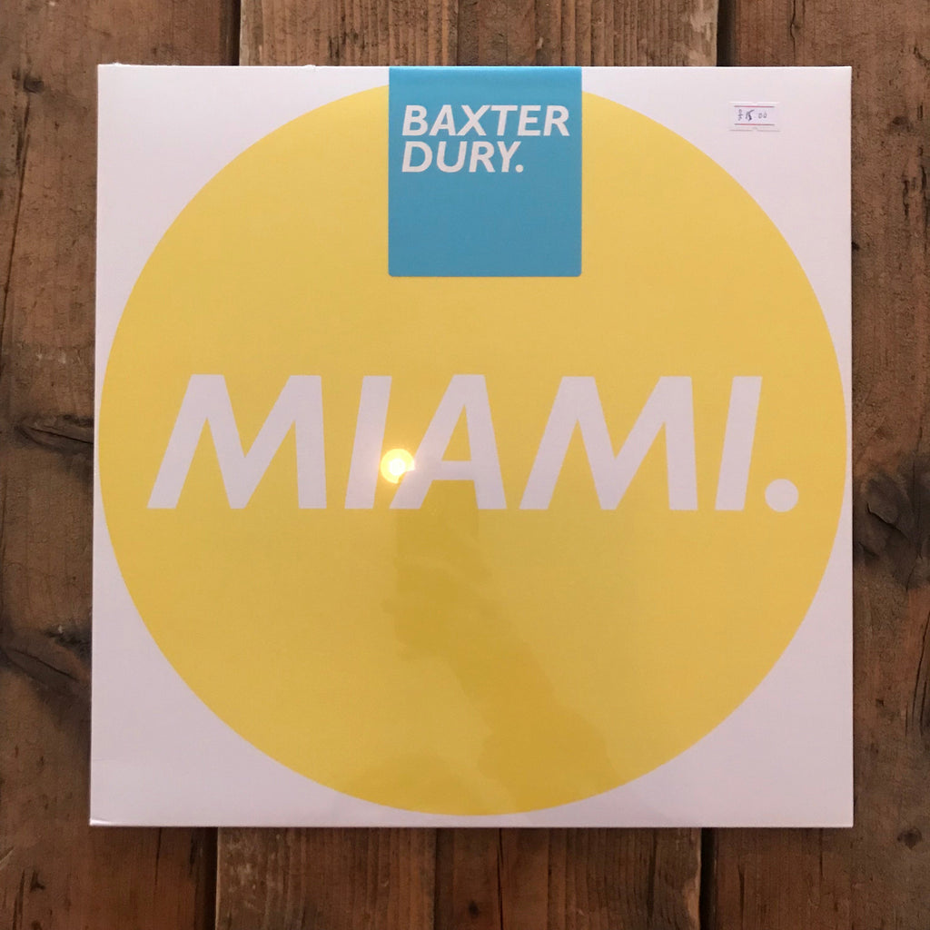 Baxter Dury - Miami - Remixes