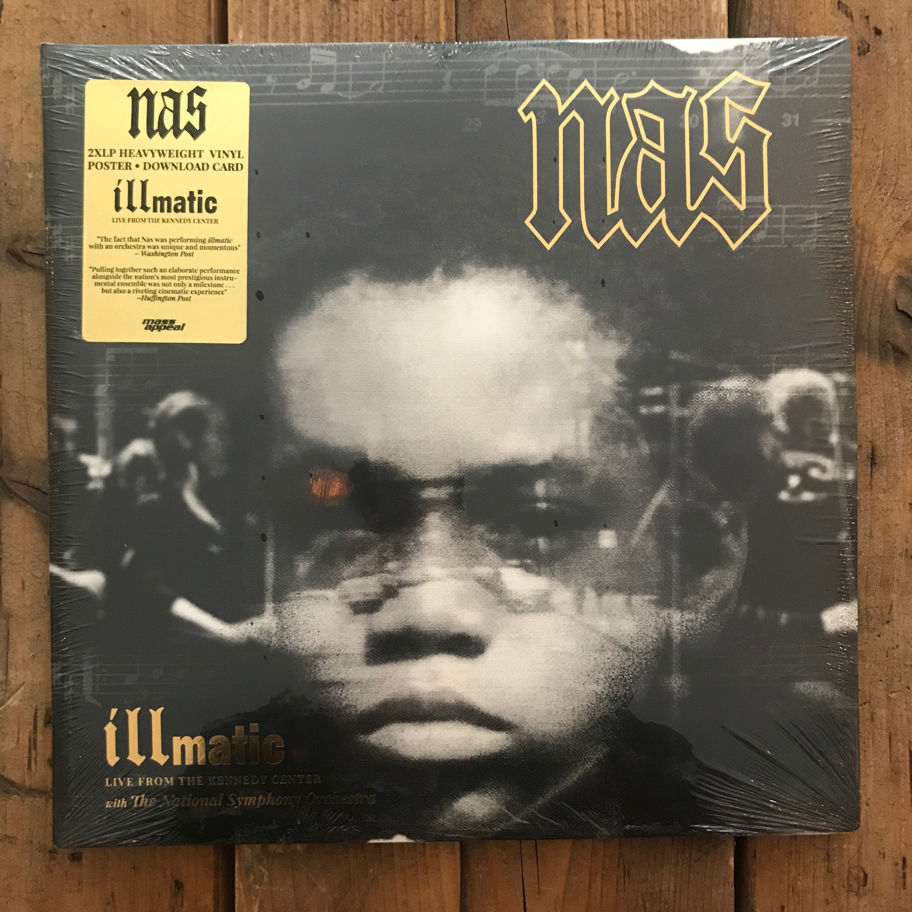 Nas - Illmatic Live From The Kenned