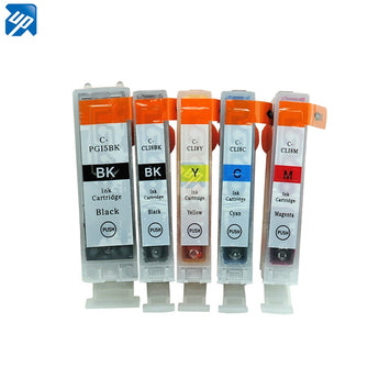 20 X  PRINTER INK CARTRIDGE for CANON MX-850 MP610 MP800 MP810 MP830 with ink PGI5 CLI8