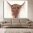 HD Printed line oil painting Jungle antelope Painting Canvas room decor print poster picture canvas Free shipping