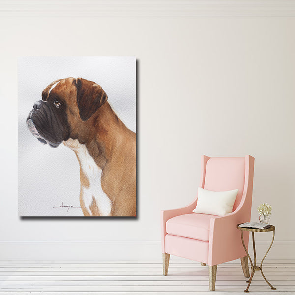 New Style Cute Dog Abstract Art Canvas Painting Print Poster,Animal Wall Pictures For Home Decoration Wall Decor
