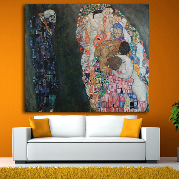 Original famous Paint by Gustav Klimt wall painting for home decor oil painting art print on canvas No Framed free shipping
