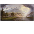 Seaside city scenery painting hang on the modern living room wall decoration high quality arts gift free shipping