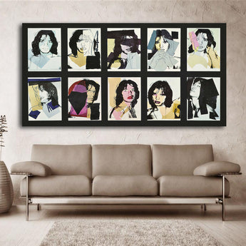 2017 hot sale CSK By andy warhol oil painting POP Art Print on canvas for wall decoration poster free shipping