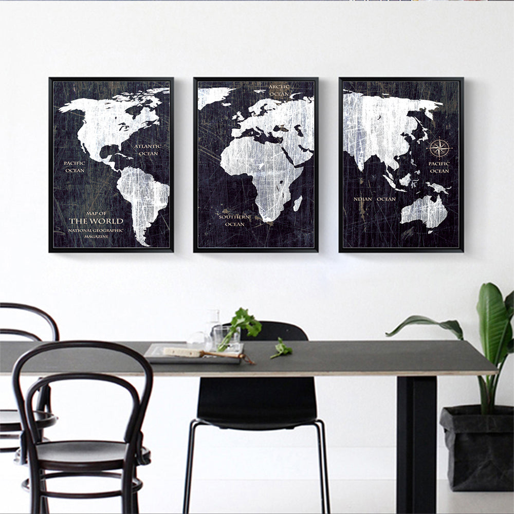 3 panel watercolor world map painting hd canvas print landscape 3 panel watercolor world map painting hd canvas print landscape modula discount canvas prints gumiabroncs Choice Image