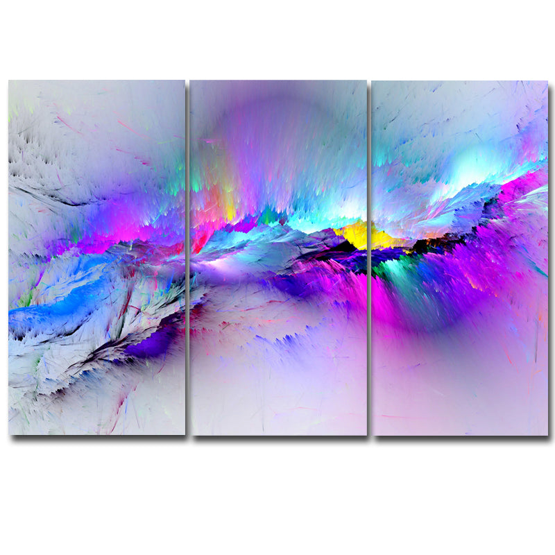 3 Pieces Set Wall Painting Prints Poster Colorful Canvas Painting Quadro Decor Abstract Painting Canvas Print Picture Home Decor