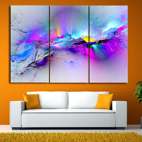 3 Pieces/set Wall Painting Prints Poster Colorful Canvas Painting Quadro Decor Abstract Painting Canvas Print Picture Home Decor