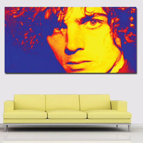 Abstract Art Portrait Oil Painting Printed On Canvas Wall Art Prints For Living Room Home Decor Abstract Prints Poster Unframed