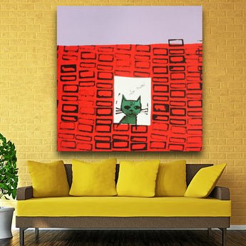 Andy Warhol So Meow c 1958 pop art print Wall Painting picture Home abstract Decorative Art Picture