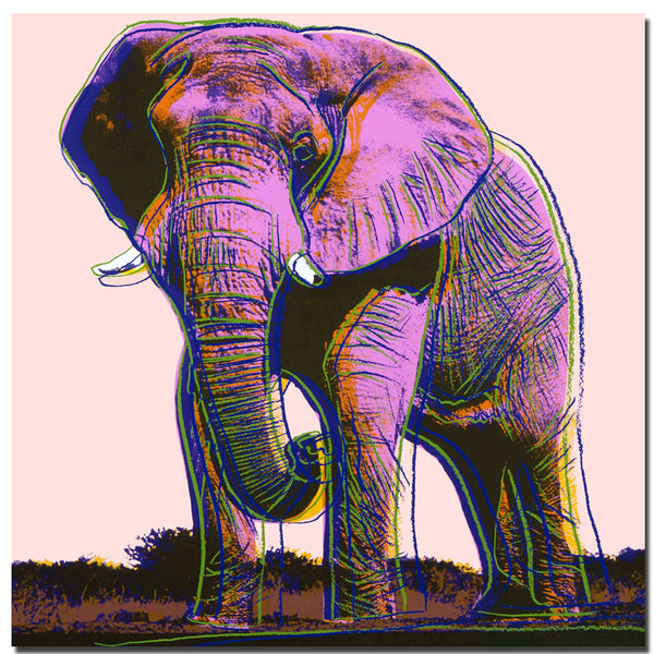 Andy warhol Elephant Painting Canvas Wall Art Picture Home Decoration Living Room Canvas Print Modern Painting-Large Canvas