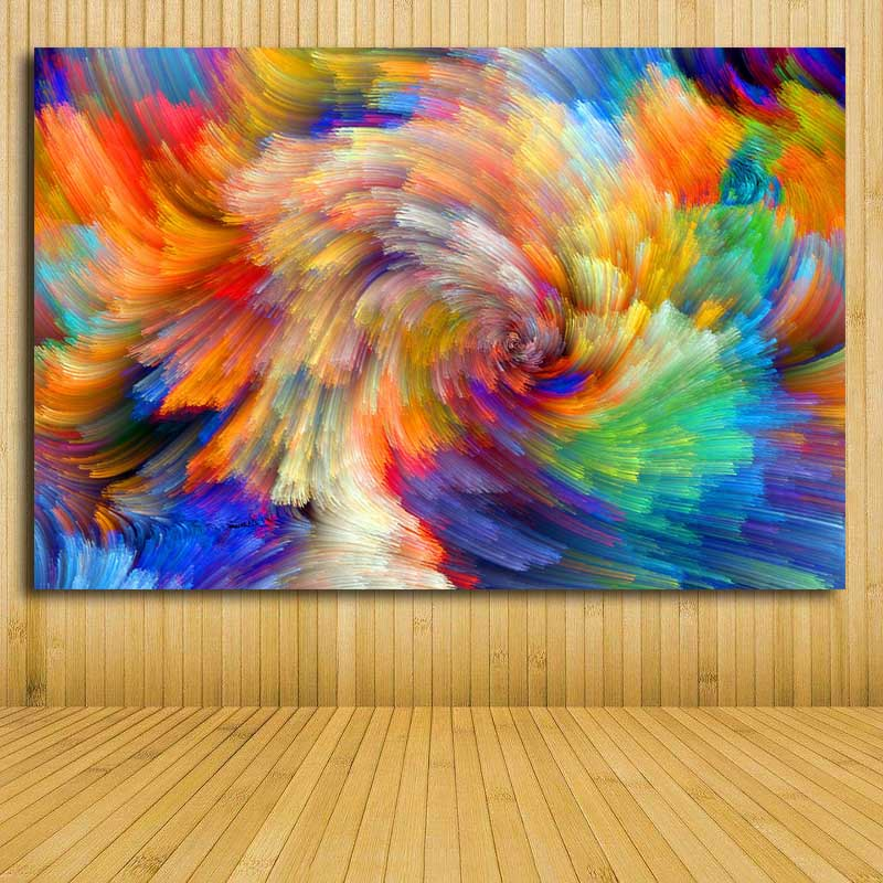 Canvas Painting Modern Abstract Art Home Decor Oil Painting Wall Art P Discount Canvas Print